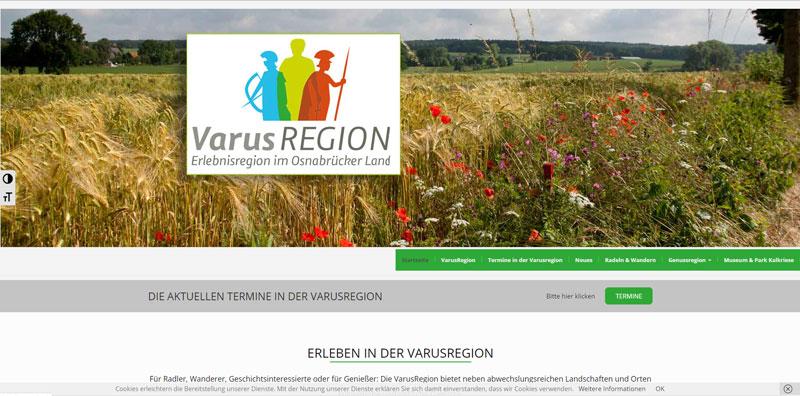 VarusRegion im Osnabrücker Land Referenz Merlin Marketing Birgit Jarosch